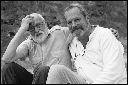 Jan Švankmajer and Terry Gilliam at the Summer Film School in Uherské Hradiště in 2009