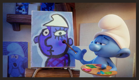 smurfs-lost-village-painting