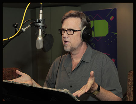 MILO MURPHY'S LAW  - Recording session featuring Dan Povenmire (creator/EP)