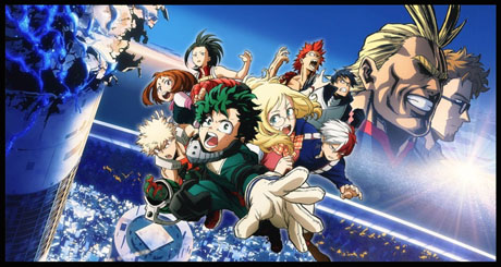 Anime Review My Hero Academia Two Heroes Animation Scoop